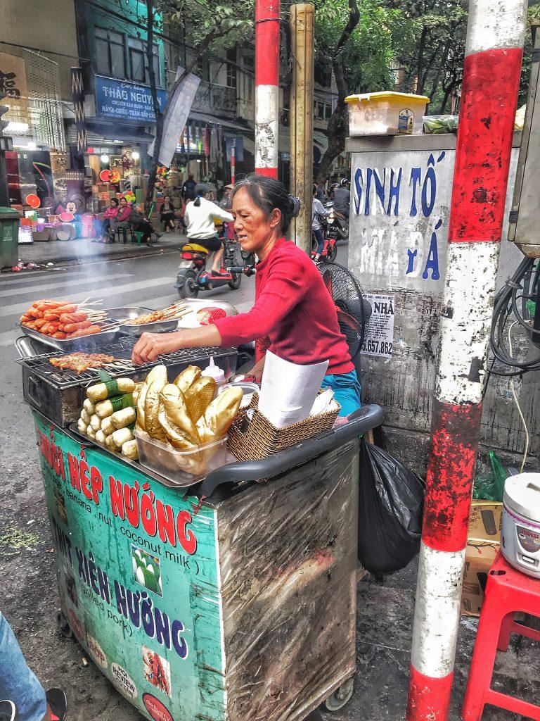 Hanoi,  street food