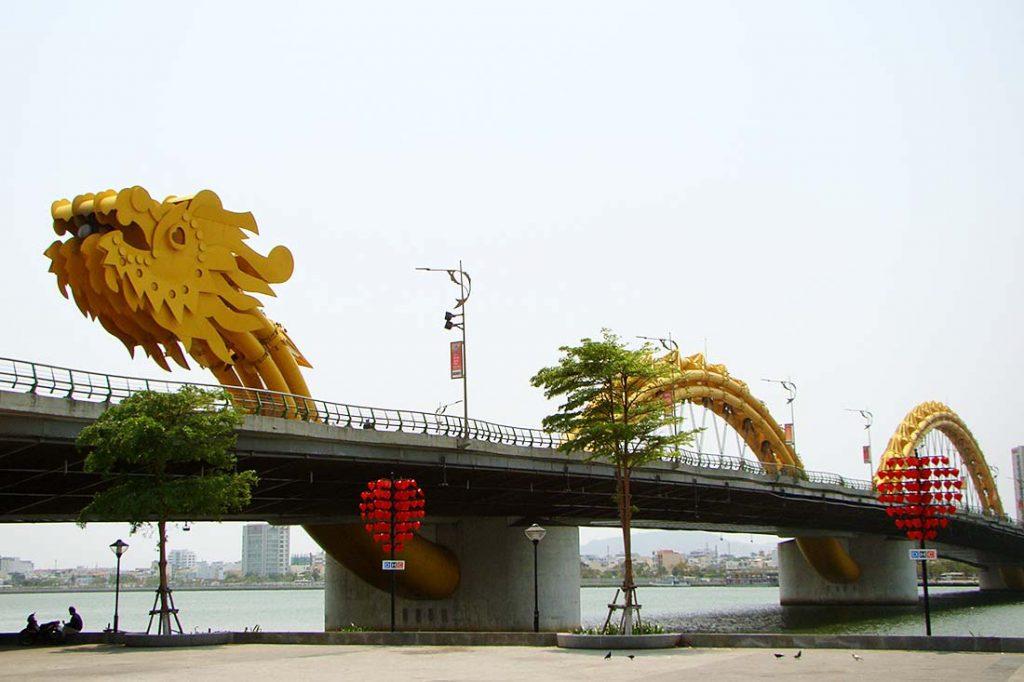 Da Nang, Dragon Bridge