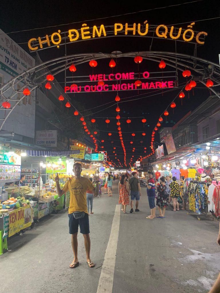 Night Market di Phu Quoc, Vietnam, Phu Quoc