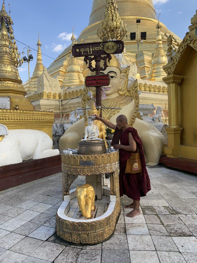 Itinerario classico del Myanmar ,  - shwedagon pagoda -