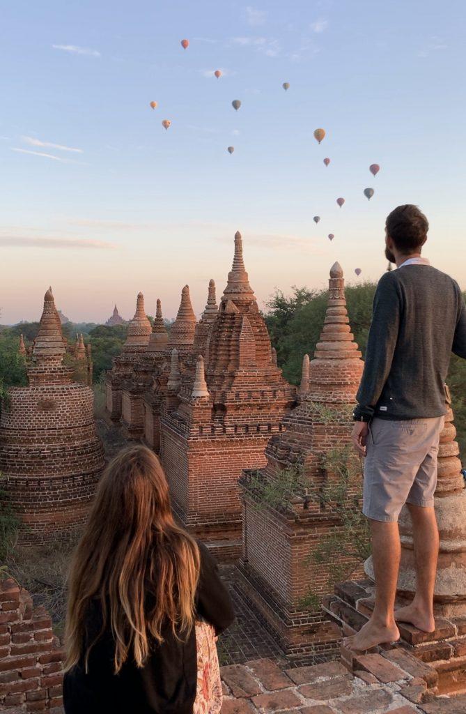 Itinerario classico del Myanmar - Sunrise at Bagan