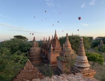 dove vedere l'alba a Bagan
