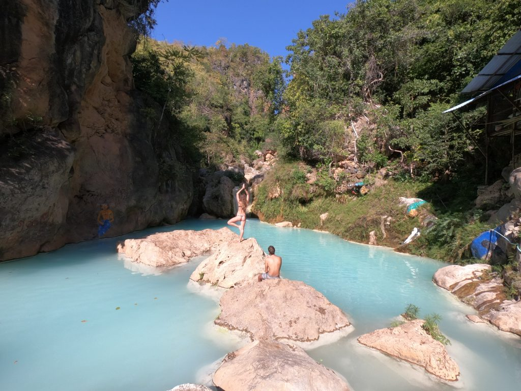 Itinerario classico del Myanmar -  Dee Dok waterfall - How to get there - percorso completo