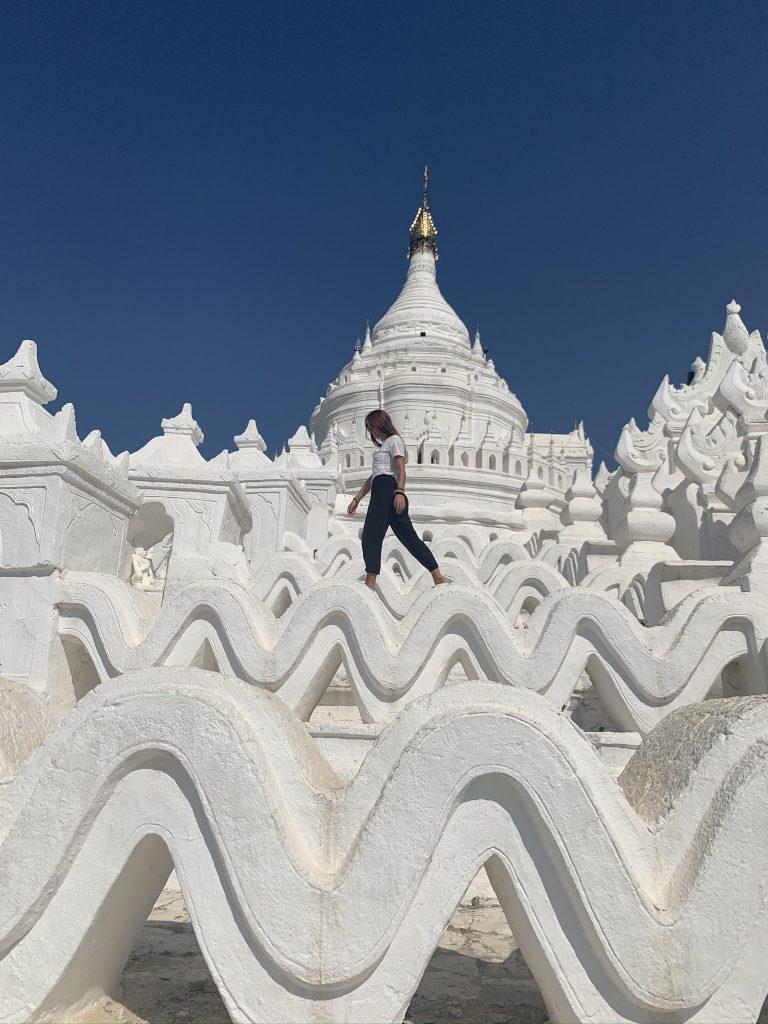 Itinerario classico del Myanmar -  Mingun - Mya Thein Tan Pagoda