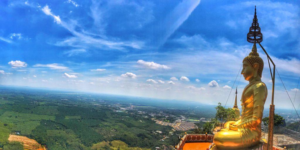 tiger cave temple , krabi , thailandia