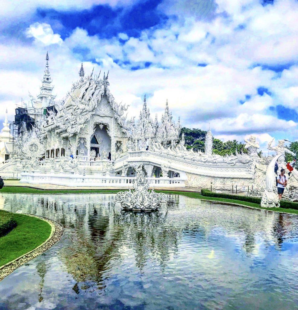 "Thailandia ; Wat Rong Khun "" il tempio bianco , Chiang Rai"
