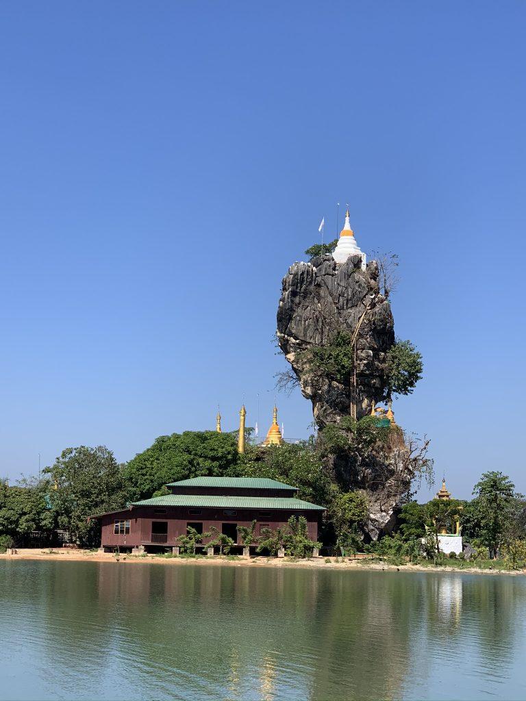 Mawlamyne e Hpa An Kyauk Kalap Pagoda, Myanmar